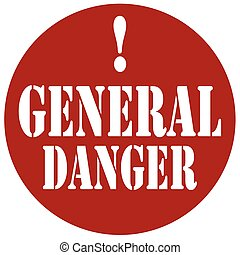 General Danger-stamp