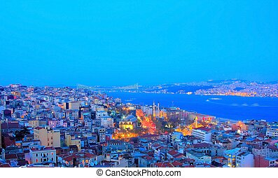 General Istanbul View