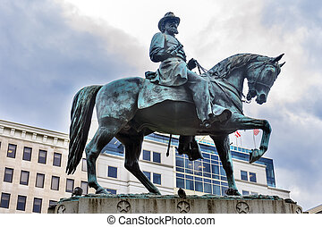 General James Mcpherson Civil War Statue Mcpherson Square...