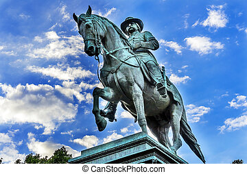 General John Logan Memorial Civil War Statue Logan Circle...