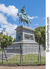 General Jose de San Martín statue in Rosario.