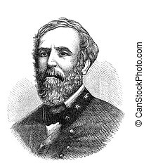 General Lee - Robert E. Lee, a confederate general in the...