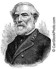 General Robert E. Lee - Confederate General Robert E. Lee...