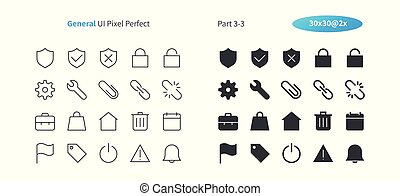 General UI Pixel Perfect Well-crafted Vector Thin Line And Solid Icons 30 2x Grid for Web Graphics and Apps. Simple Minimal Pictogram Part 3-3