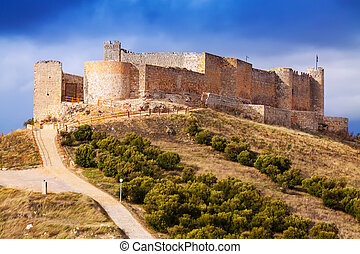 view of castle of Jadraque - General view of castle of ...