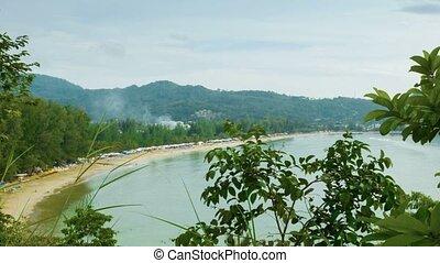 General view of Kamala Beach. Phuket Island. Thailand