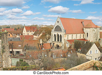 General view of the French city of Chartres