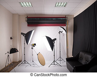photographic studio - general view of the photographic...