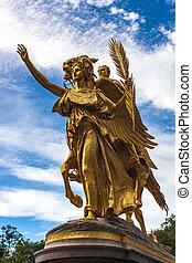 General William Tecumseh Sherman Monument in New York City