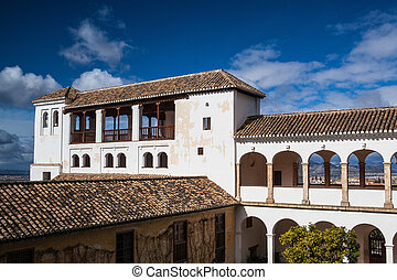 generalife, pavillon, 複合センター, alhambra