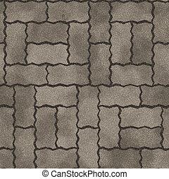 generar, pavimento, textura, seamless