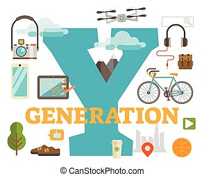Generation Y themed title