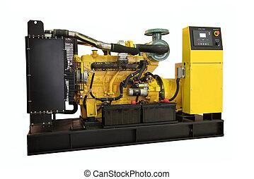 Generator - Standby generator, electric power plant,...