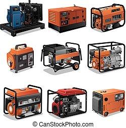 generatorer, magt