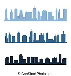 Generic city skylines