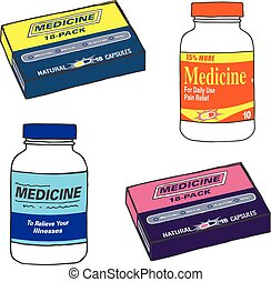 Generic Medicine bottle Template