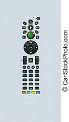 Generic Remote Control Buttons with extendes surrounding area.