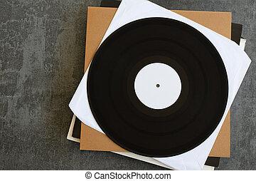 white label promo vinyl records