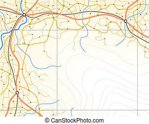 generisch, landkarte