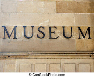 generisch, museum, meldingsbord