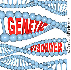 Genetic Disorder - Mutation in DNA Causes Disease - The...