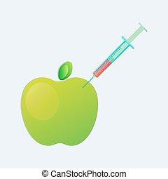Genetic engineering. GMO