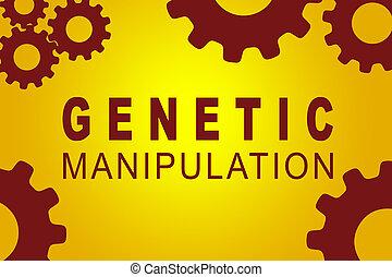 Genetic Manipulation concept