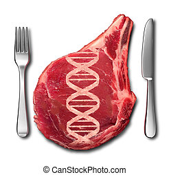Genetically Modified Meat - Genetically modified meat...