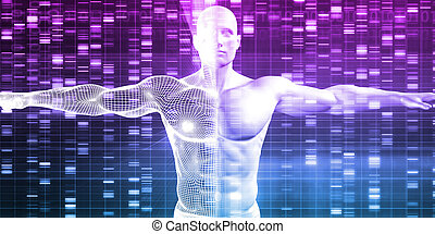 Genetics with Science Data as a Futuristic Concept