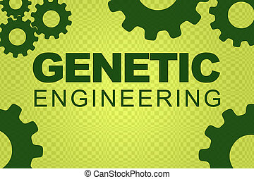 genetisch, begriff, technik