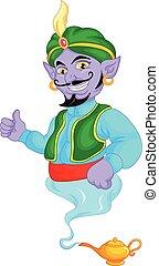 genie, cartone animato