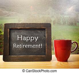 genieten, retirement!, jouw
