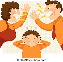 genitori, combattimento