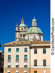 Genoa Cathedral of San Lorenzo - Italy