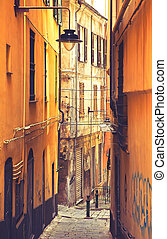 Genoa, Italy - old town