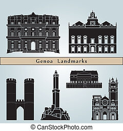 Genoa Landmarks