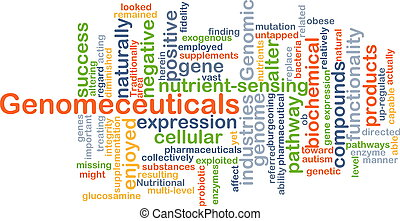 Genomeceuticals background concept - Background concept...