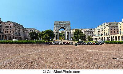 Genova - Piazza della Vittoria - Piazza della Vittoria -...