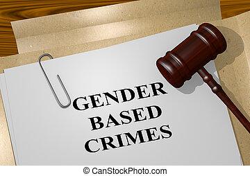 genre, concept, crimes, basé