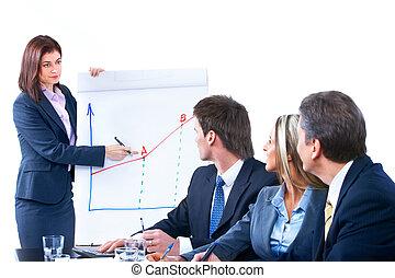 gens,  Business, équipe