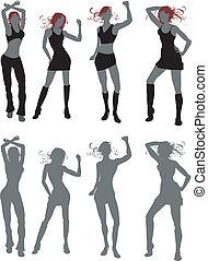 gens, danse