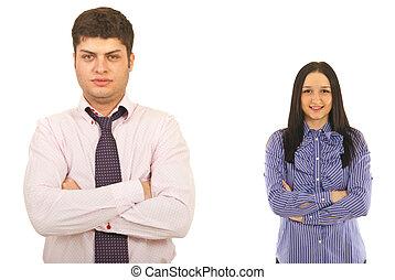 gens, deux, business