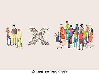 gens., deux, groupes