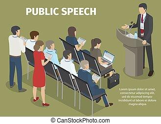 gens, disques, directeur, parole, rapport, public