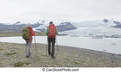 gens, nature, islande, aventure, voyage, randonnée