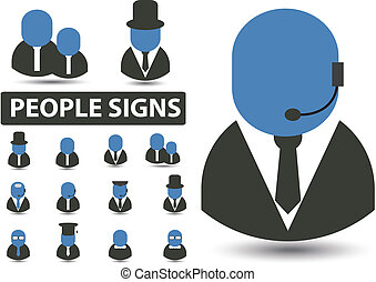 gens, signes