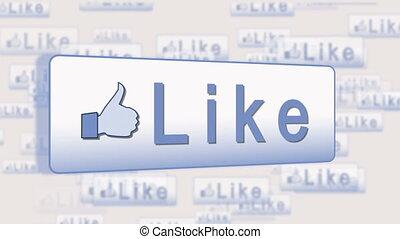 gens, utilisation, social, média
