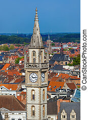 Gent cityscape - Belgium - architecture background