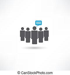 gente, comunicación