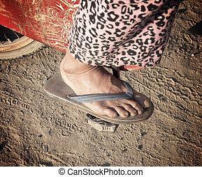 gente, pierna
